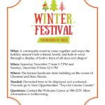 Winter Festival Celebration of Trees